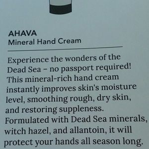 Ahava Other - AHAVA~ Dead Sea Water ~ Mineral Hand Cream